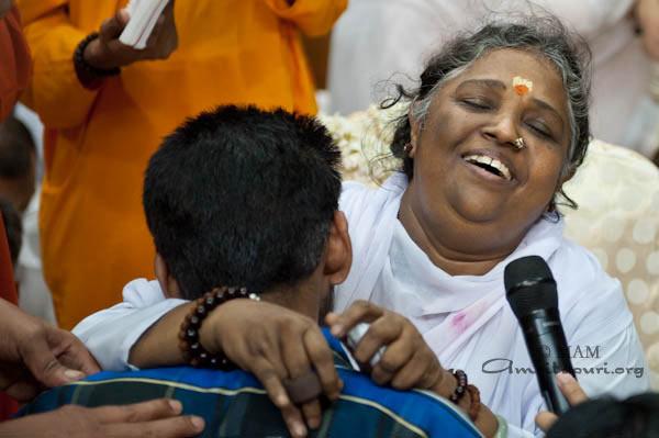 Amma an Neujahr 2012