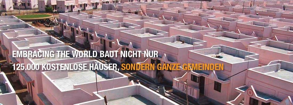 Häuser für Bedürftige