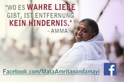 Amma auf Facebook