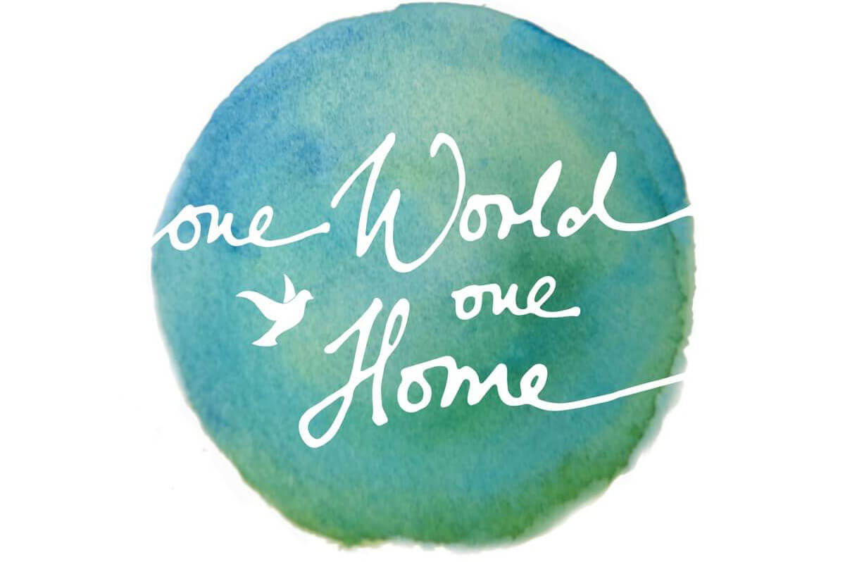 One World One Home logo