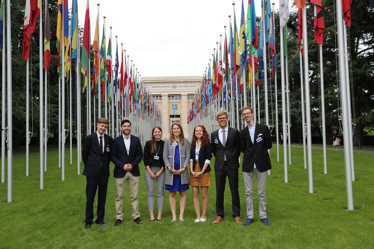 Ayudh bei den Vereinten Nationen
