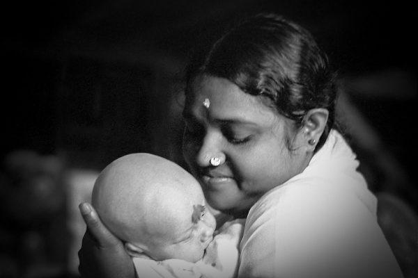 Amma mit Baby