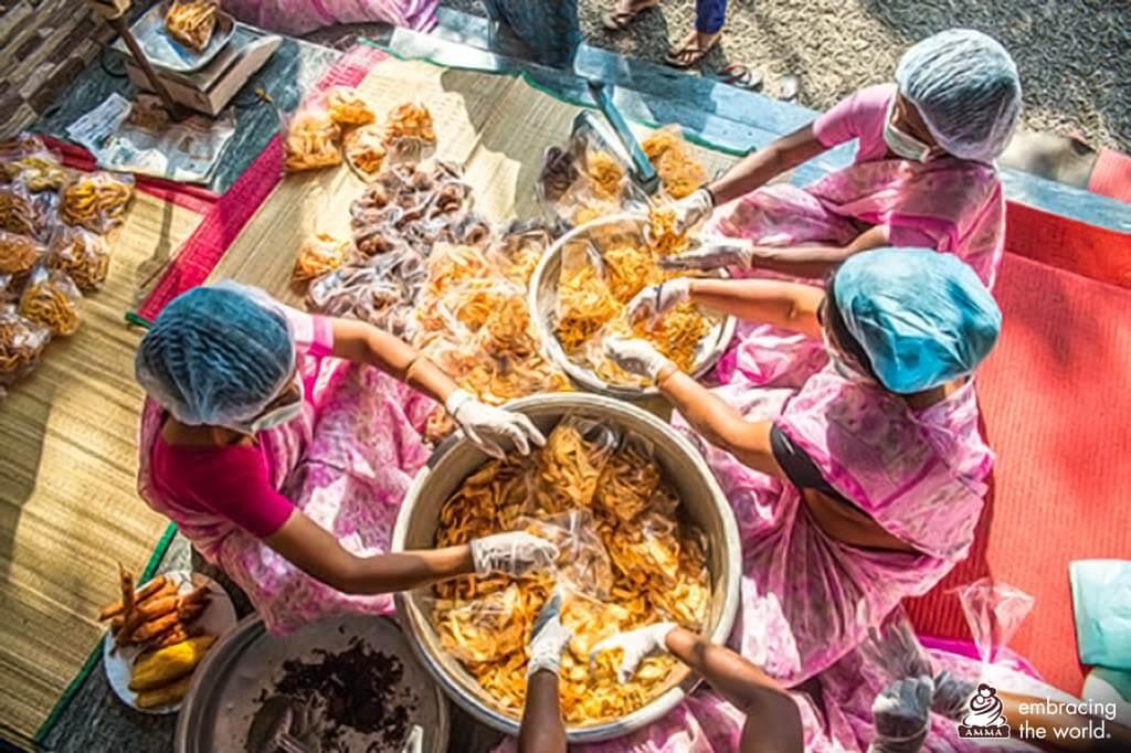 AmritaSREE Selbsthilfegruppe in Indien