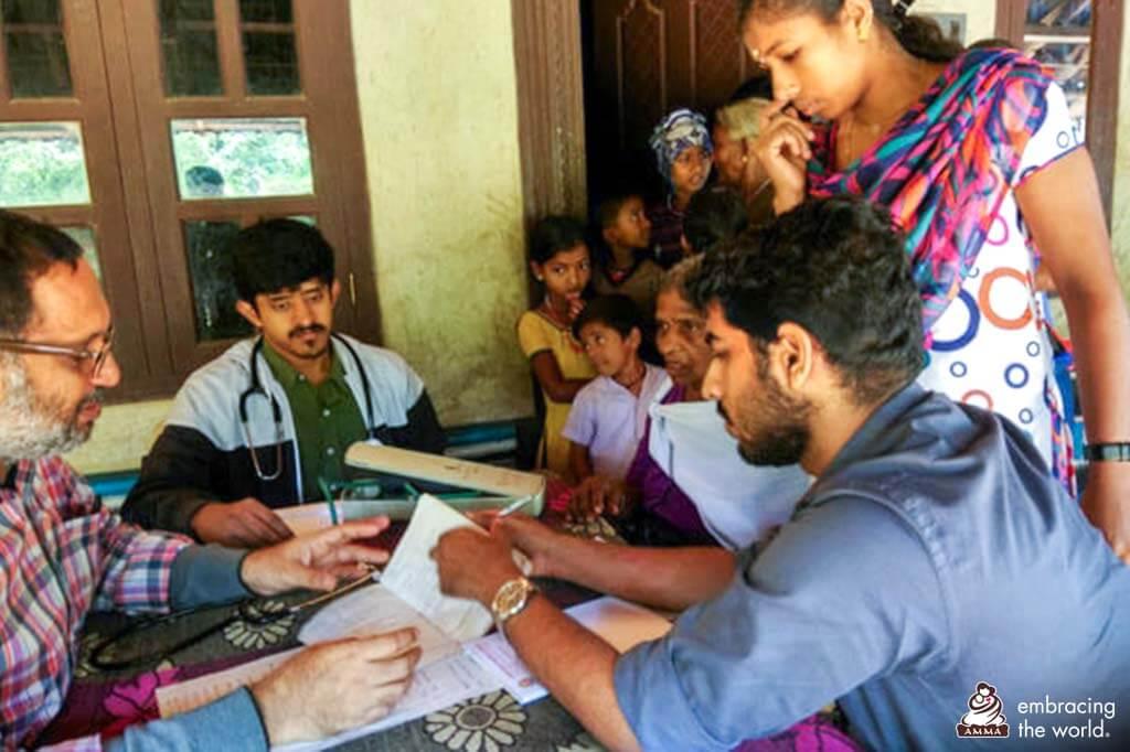 Medizinisches Camp im Bezirk Wayanad.
