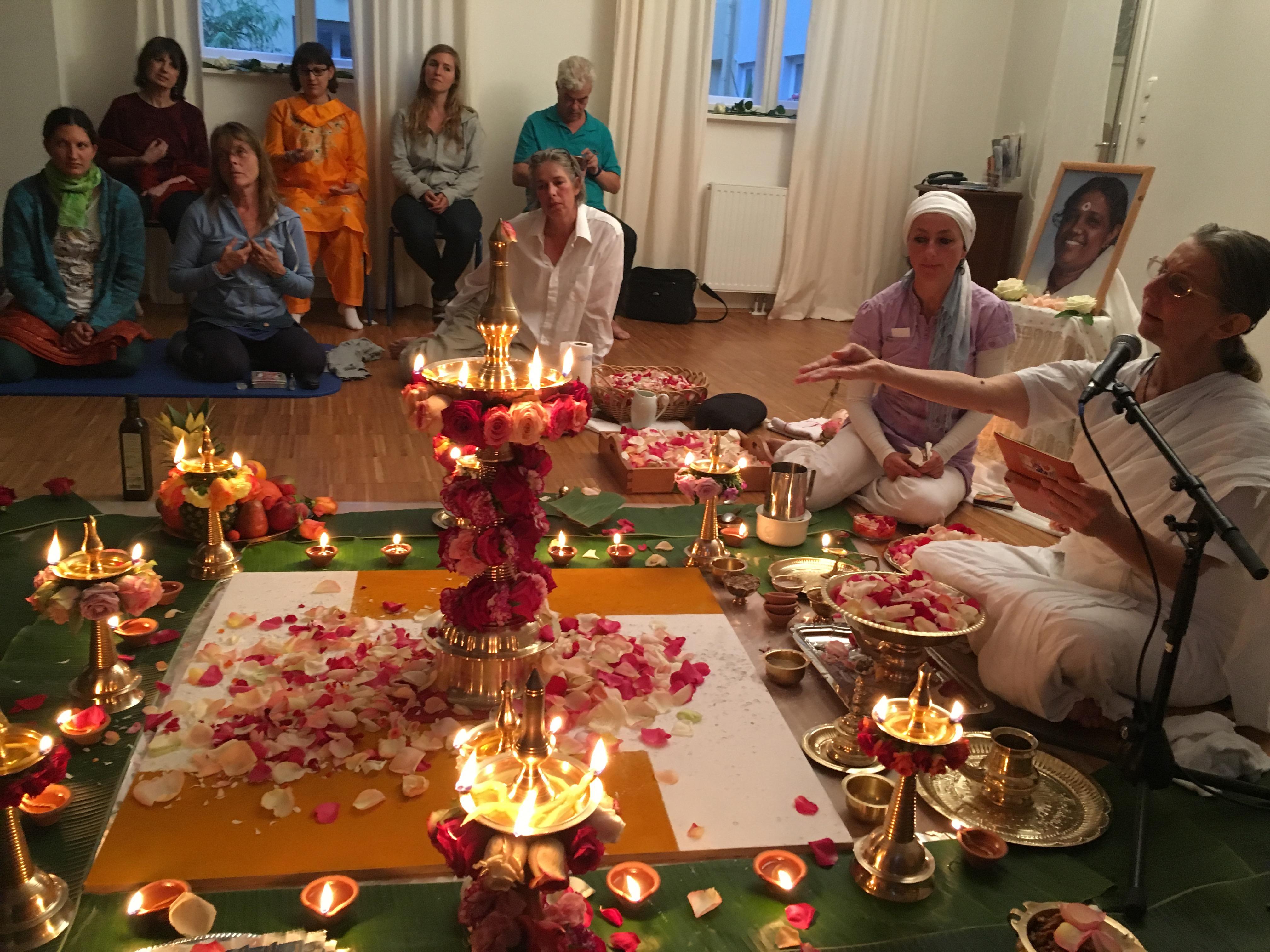 Bhagavati Puja 2016 mit Brahmacharini Amritapriya