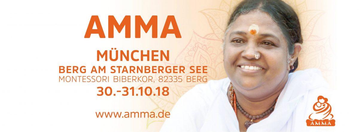 Amma besucht Berg am Starnberger See - 30. - 31.10. 2018